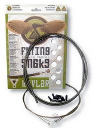 TRANSFIL Kit Frein FLYING SNAKE KEVLAR Noir