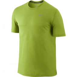NIKE Maillot DRI-FIT COOL TAILWIND Jaune Homme