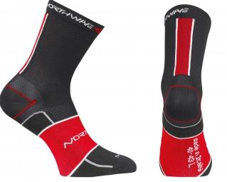 NORTHWAVE Paire de chaussettes ULTLRALIGHT Noir Rouge