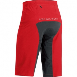 GORE BIKE WEAR Short ALP-X PRO WINDSTOPPER Soft Shell Rouge/Noir