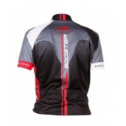BV SPORT Veste Cycle RC 100 Noir Rouge