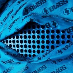 BLISS Sac à Dos Avec Protection Dorsale ARG VERTICAL LD 12L Noir