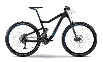 HAIBIKE 2015 Vélo complet Q XC 9.10 29´´ 3x10V Noir Bleu