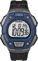 TIMEX Montre IRONMAN Triathlon 50 Noir Bleue