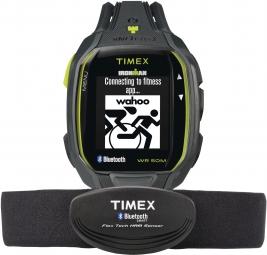 TIMEX Montre IRONMAN Run x50+ + HRM Gris Vert