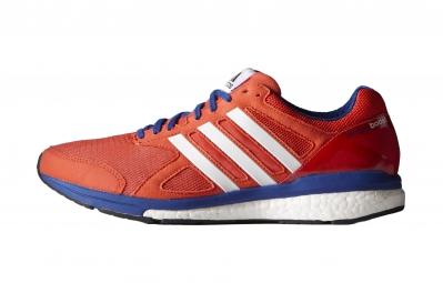 adidas Paire de Chaussures Adizero Tempo Boost 7 Homme Rouge
