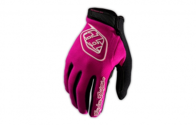 TROY LEE DESIGNS Gants GP AIR Rose Noir