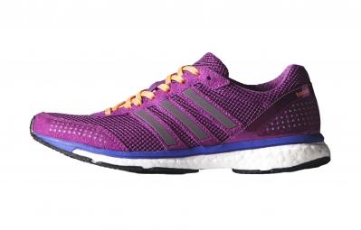 adidas Paire de Chaussures Adizero Adios Boost 2.0 Femme Violet