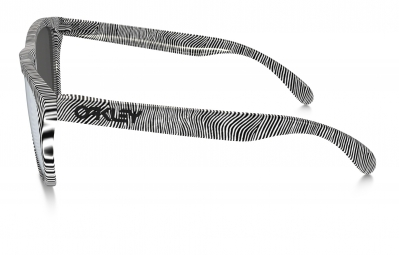Lunettes Oakley FROGSKINS FINGERPRINT Blanc Noir