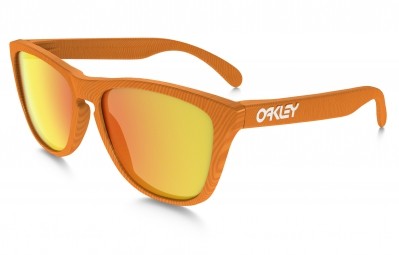OAKLEY Lunettes FROGSKINS FINGERPRINT Orange / Fire Iridium Ref OO9013-53