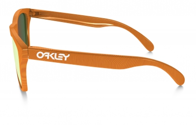 Lunettes Oakley FROGSKINS FINGERPRINT Orange Jaune
