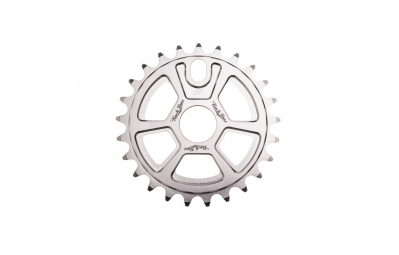 ROCK BMX Plateau SHURIKEN 25 Dents Argent