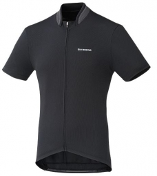 SHIMANO Maillot Manches Courtes PERFORMANCE Noir