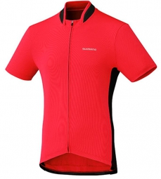 SHIMANO Maillot Manches Courtes PERFORMANCE Rouge