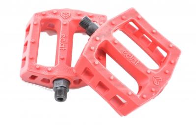 ECLAT Pédales Plastique SURGE Rouge