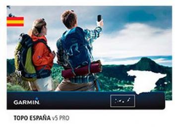 GARMIN TOPO Espagne V5 PRO