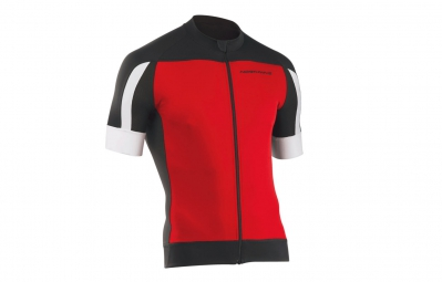 NORTHWAVE Maillot MC SONIC Rouge Noir