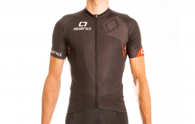 ISANO Maillot Manches Courtes IS 8.0 Noir Rouge