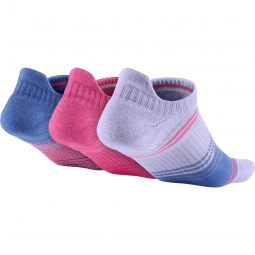 Nike Chaussettes DRI-FIT LIGHTWEIGHT NO-SHOW TAB Multicolor 3 paires
