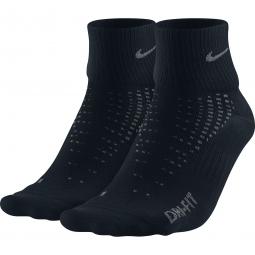 Nike Chaussettes Anti-Ampoule LIGHTWEIGHT Noir 2 Paires