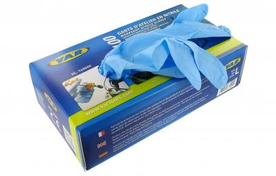 VAR Boîte de 100 gants nitrile