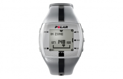 POLAR Montre cardio FT4M Argent