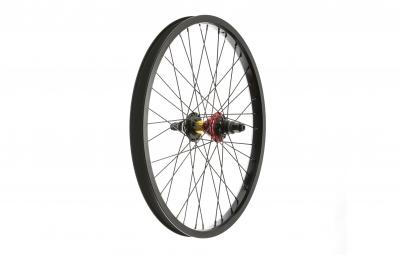 ROCK BMX Roue Arriere SWR Edition limitee RHD Noir Rasta