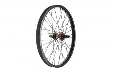 ROCK BMX Roue Arriere SWR Edition limitee LHD Noir Rasta
