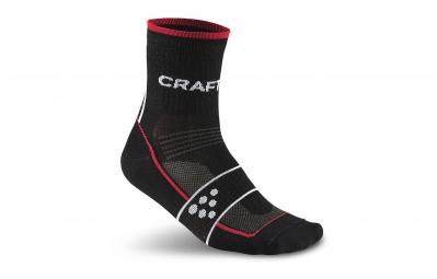 CRAFT Paire de chaussettes GRAND TOUR Noir Rouge