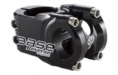 REVERSE Potence BASE 25.4mm 40mm 0° Noir brillant