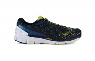 Under Armour Charged Bandit Mens Running Shoes - Black Blue