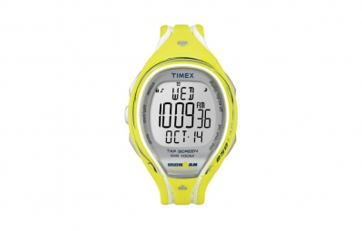 TIMEX Montre Ironman SLEEK 250 LAP Mixte Jaune