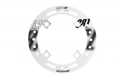 REVERSE Protège-plateau BASHGUARD Race SL Blanc