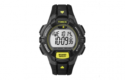 TIMEX Montre Ironman Rugged 30 LAP Noir Jaune