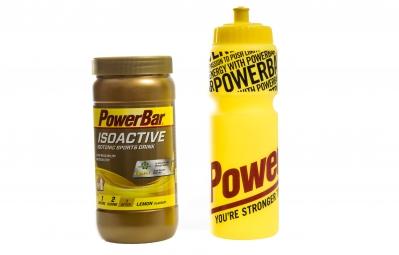 POWERBAR Pack ISOACTIVE Citron 600g + Bidon