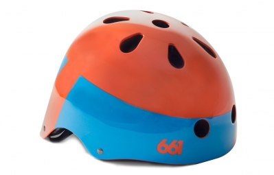 Casque Bol 661 SIXSIXONE 2015 DIRT LID Orange Taille unique