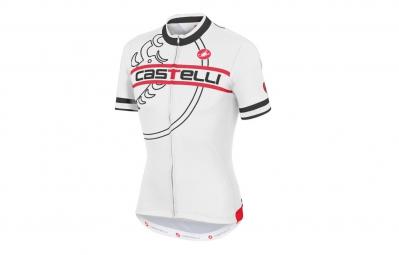 CASTELLI 2015 Maillot Segno FZ Blanc