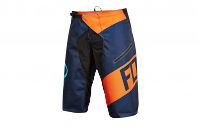 FOX Short DEMO DH CRANKWORX Série Limitée Orange Bleu