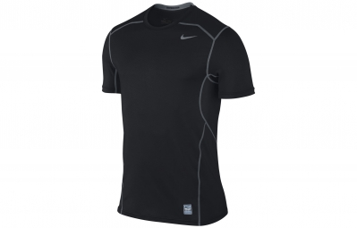 NIKE Maillot PRO COMBAT HYPERCOOL FITTED Noir Homme