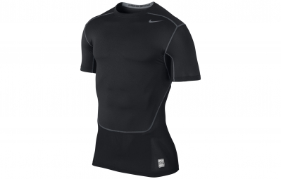 NIKE Maillot PRO COMBAT HYPERCOOL COMPRESSION 3.0 Noir Homme