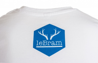 LeBram T-Shirt RIDE Blanc