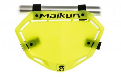 MAIKUN Plaque 3D MINI Jaune Fluo