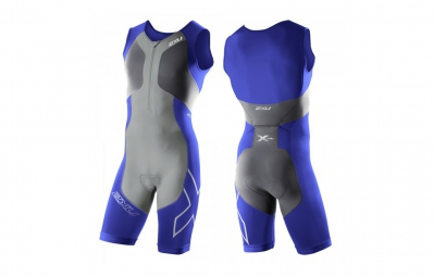 2XU Combinaison Tri fonction G2 COMPRESSION homme charcoal nautic
