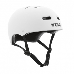Casque bol TSG SKATE/BMX Solid Color Blanc