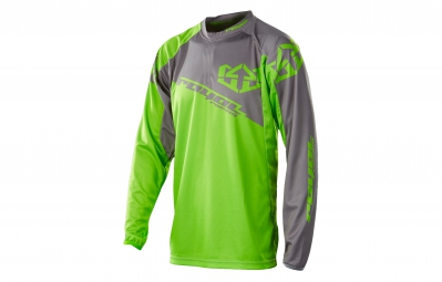 ROYAL 2015 Maillot Manches Longues STAGE Vert/Gris