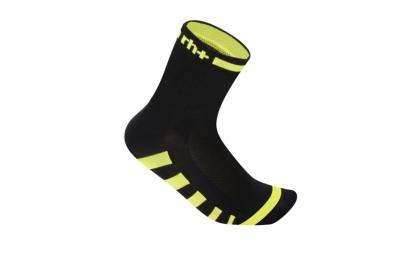 ZERO RH Paire de chaussettes ERGO 9 Noir Jaune