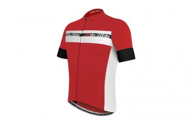 ZERO RH maillot ACADEMY FZ Rouge Blanc Noir