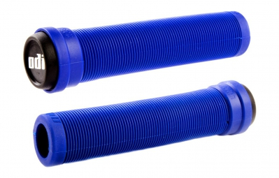 ODI Poignées LONGNECK Flangeless Bleu