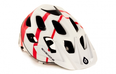 Casque 661 SIXSIXONE RECON STRYCKER 2015 Blanc Rouge