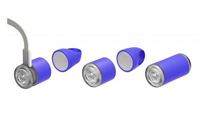 REELIGHT Kit Eclairage Avant Arrière EGO USB Bleu